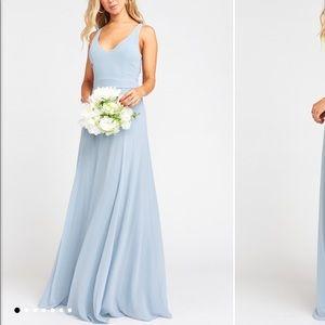 🆕✨Steel Blue Show Me Your Mumu bridesmaids Dress